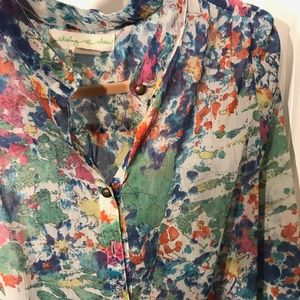 Urban Outfitters Floral blue top | Size M